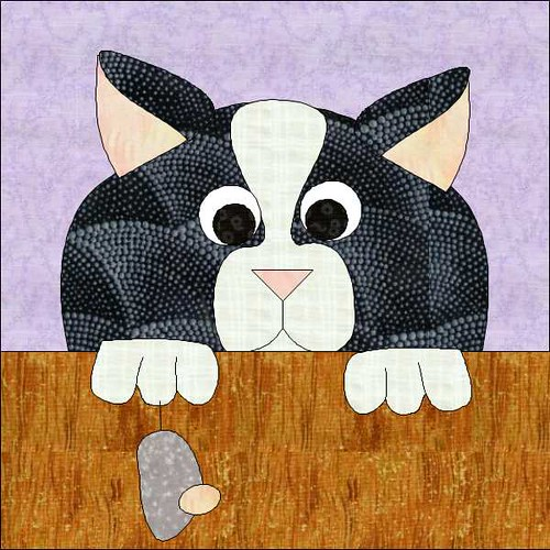 Cat And Mouse Game Applique Quilt Pattern Flickr Photo