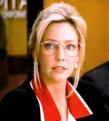 Heather Locklear wearing glasses