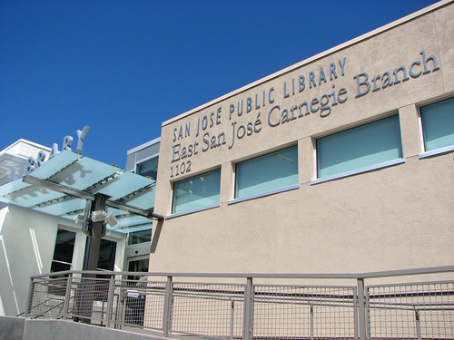 East San Jose Carnegie Branch Library photograph