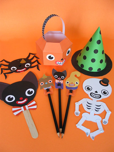 Halloween Paper Party Favors
