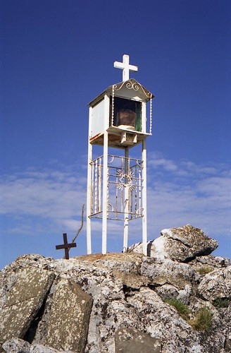Small shrine on the mountain