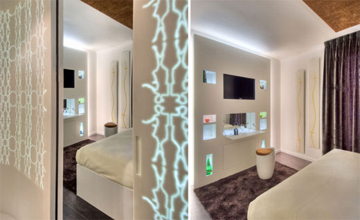 Hotel Gabriel Paris Bedroom Interior With Zen Concept