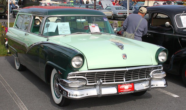 Station wagons ii a gallery on flickr for 1956 ford 2 door wagon