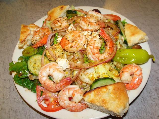 Greek Salad with Shrimp_2009_1123
