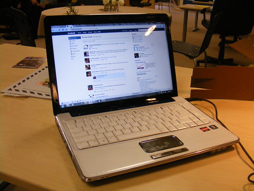 The NEW new laptop from the front