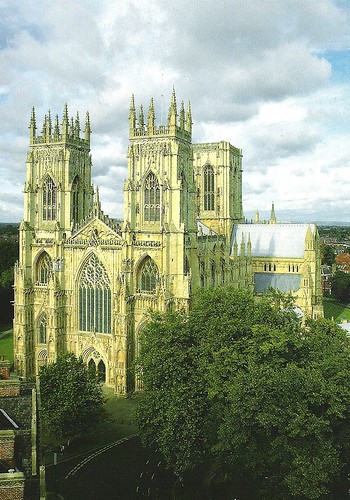 York Minster Postcard View