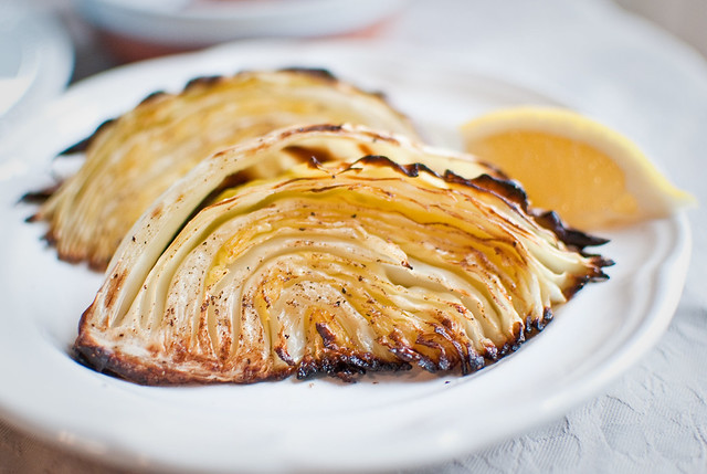 Roasted Cabbage Wedges   Flickr - Photo Sharing!