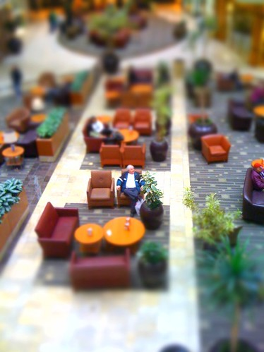 Stoneridge Mall - Tilt Shift