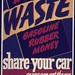 Don't Waste Gasoline, Rubber, Money. Share Your Car! ca. 1942 - ca. 1943 by The U.S. National Archives