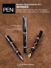 PenWorld Award by William Henry Studio