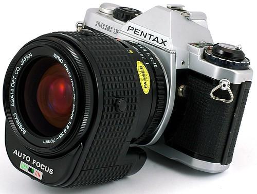 Pentax ME F+SMC PENTAX AF ZOOM 1:2.8 35-70mm