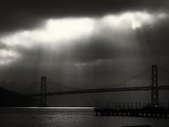 This morning's run. Bay Bridge, SF, CA