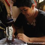Concentrating on Every Apron - Masaya, Nicaragua