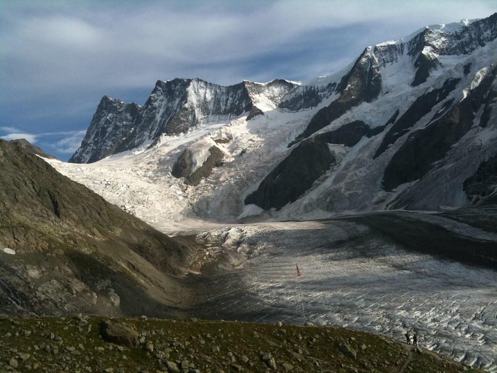 Finsteraarjoch von der Schreckhornhütte