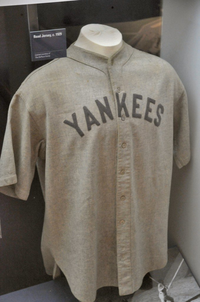 premium selection 71523 0b1d0 New York Yankees Road Jersey | mbell1975 | Flickr