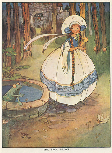 Mabel Lucie Attwell - The Frog Prince