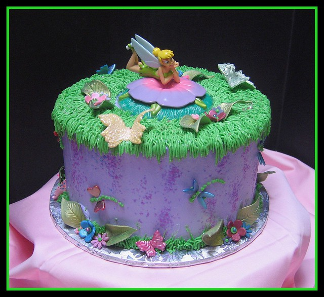 Tinkerbell Birthday Cakes Designs
