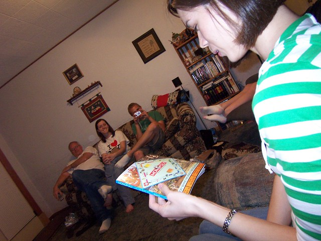 opening presents: monopoly book