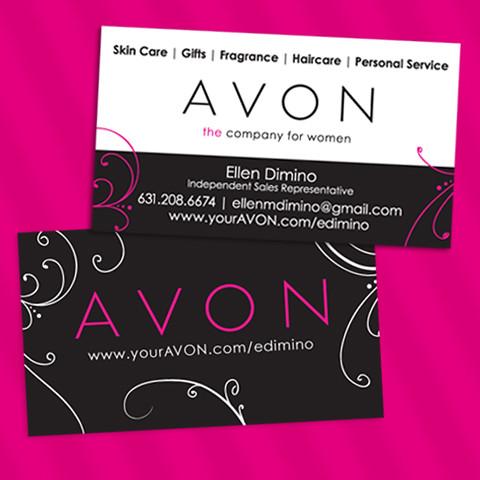 avon independent sales representative business cards flickr photo sharing. Black Bedroom Furniture Sets. Home Design Ideas