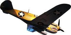 model aircraft(0.0), radio-controlled aircraft(0.0), vought f4u corsair(0.0), fighter aircraft(0.0), focke-wulf fw 190(0.0), monoplane(1.0), aviation(1.0), military aircraft(1.0), airplane(1.0), propeller driven aircraft(1.0), wing(1.0), vehicle(1.0), propeller(1.0), curtiss p-40 warhawk(1.0),