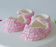 Booties for Amelie