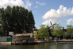 Schiedam - Molen De Kameel in aanbouw - 29 aug 2009