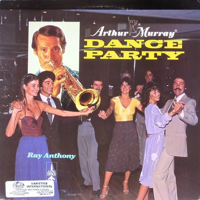 Ray Anthony - Arthur Murray Dance Party album cover