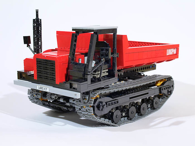 Lego crawler carrier