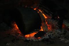 fire, darkness, flame, campfire, bonfire,