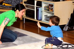 sequoia tries to stop the tickling monster mom    MG…