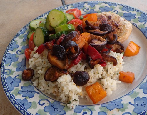 Pork Chops with Vegetables & Rice