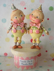 Tweedle Dee and Tweedle Dum!