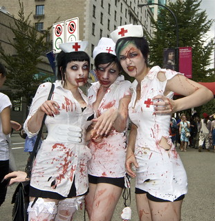 The three zombie nurses
