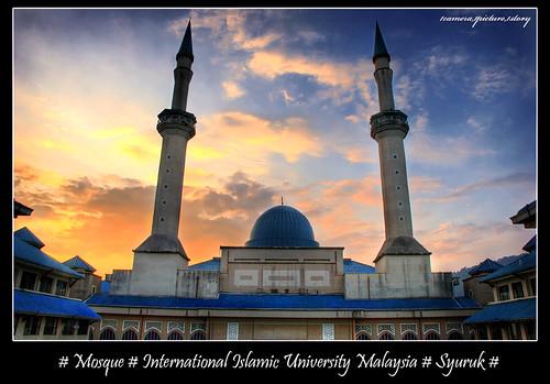 Sultan Haji Ahmad Shah (IIUM) Mosque #Syuruk (Morning..Sunrise)