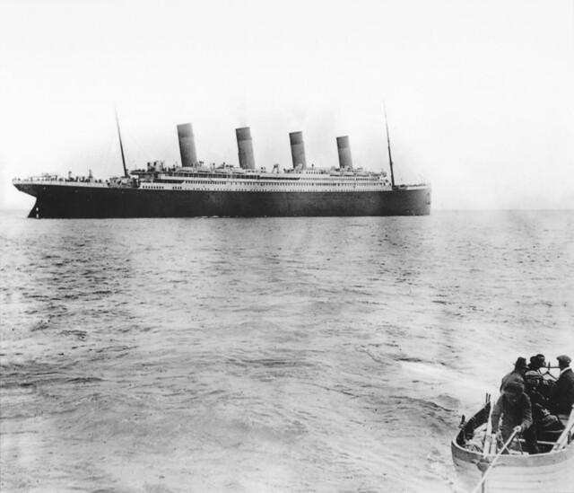 Titanic In Queenstown - 1912