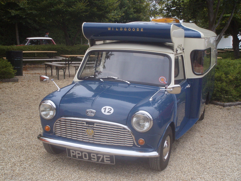 1965 Austin Mini Wildgoose Celebrating 50 Years Of The Min Flickr