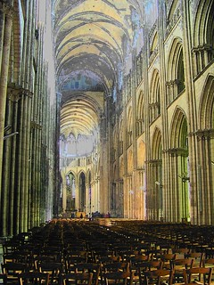 La cathedrale de Rouen (inside Rouen cathedral)