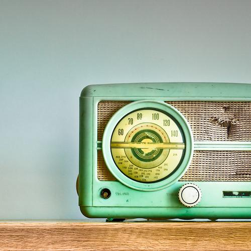Vintage Radio by ►CubaGallery