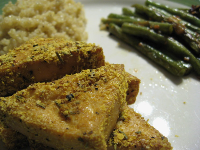 Rosemary Lemon Baked Tofu | Flickr - Photo Sharing!