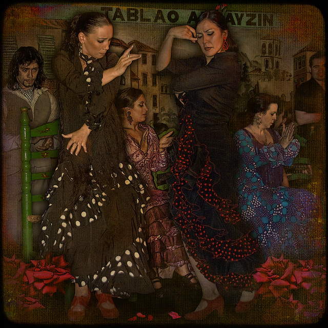 FLAMENCO... love-rivalry in dance of passion.