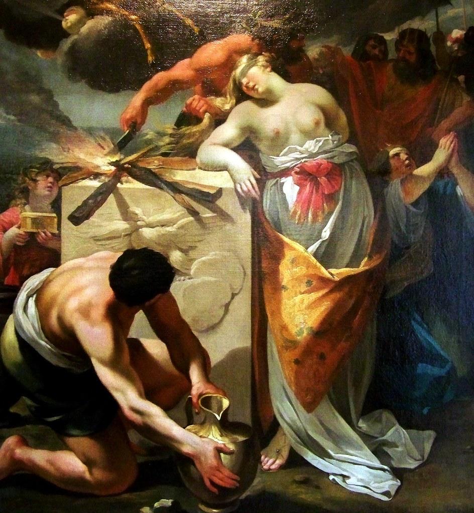 The sacrifice of life iphigenia
