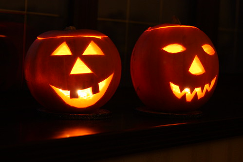 A Pair of Pumpkins