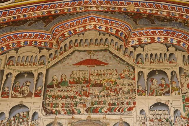Pinturas conservadas de los Haveli Mandawa, La esencia rural de los Haveli - 4068921429 ae64f02c1e z - Mandawa, La esencia rural de los Haveli