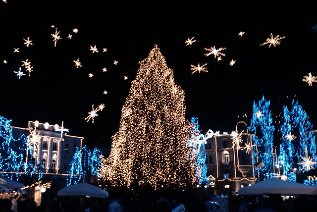 Ljubljana Christmas Lights