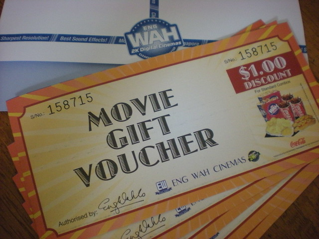 ENG WAH CINEMA Movie Gift Voucher | Flickr - Photo Sharing!