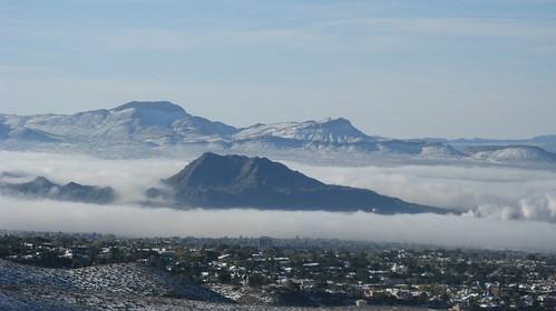winter snow mountains canon mexico texas desert powershot elpaso cristorey franklins franklinmountains elpasotexas transmountain a720is flickrwrherndon
