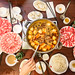Hot pot with the guys by crazybobbles