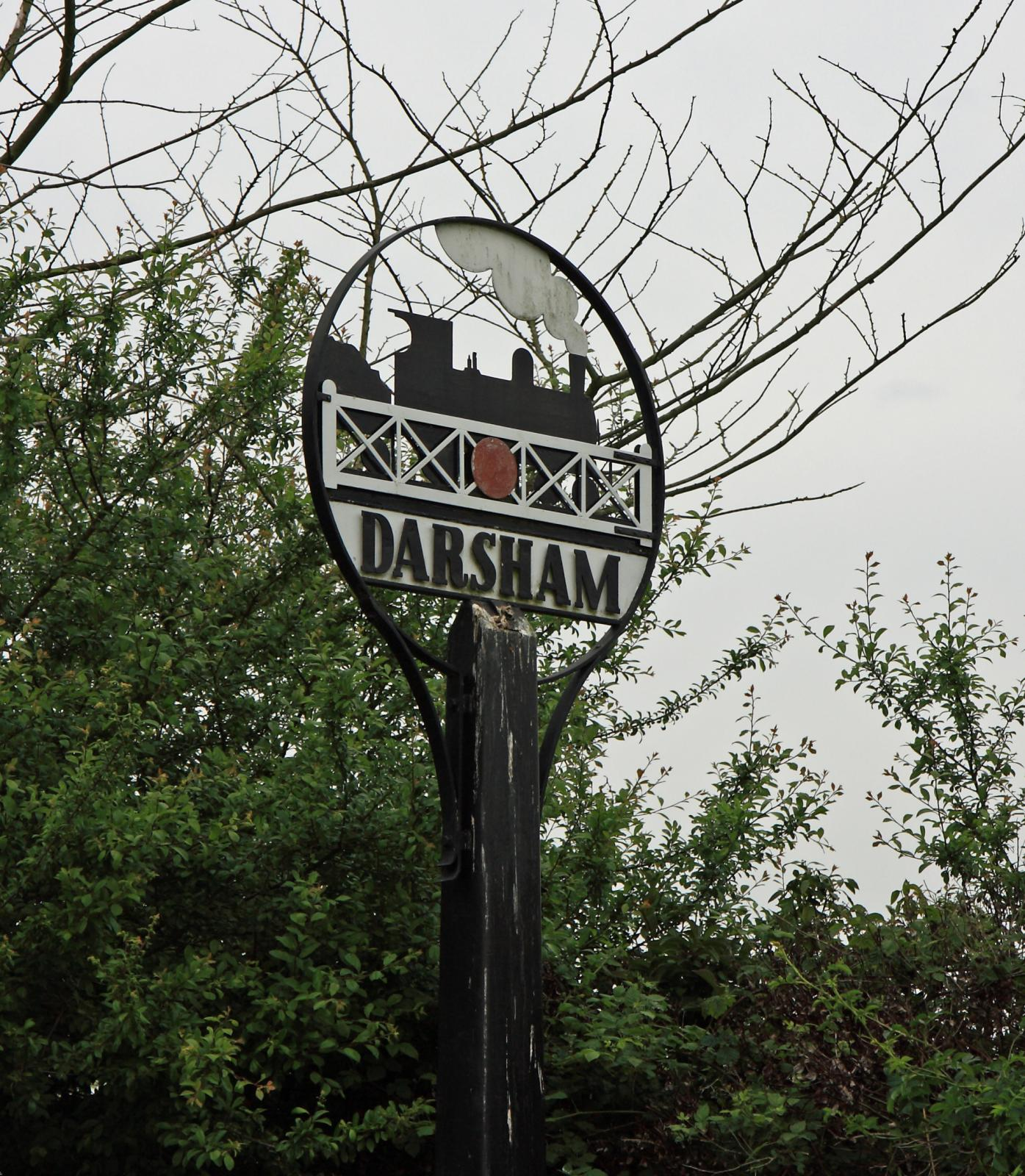 Village Sign Darsham