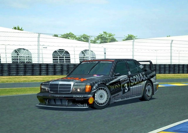 Gran turismo 4 amg mercedes benz 190 e 2 5 16 evolution for Mercedes benz touring car