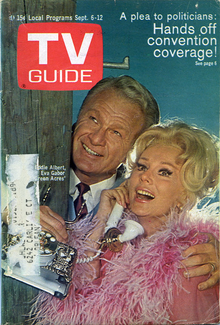Eva Gabor and Eddie Albert